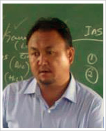 Jamyang Wangyal (Under Secretary South Zone)